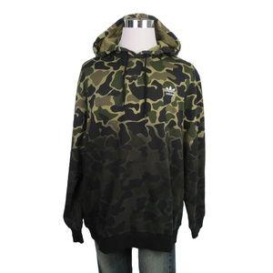 Adidas CE1547 Camouflage Hoodie Multi Coloured, 2X Large